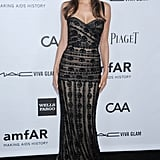Alessandra Ambrosio attended the event in LA.