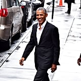 White Button-Down Shirt Barack