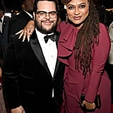 Pictured: Josh Gad and Ava DuVernay