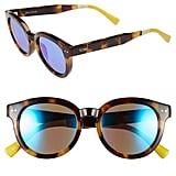 TOMS Bellevue 57mm Retro Sunglasses ($98)
