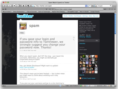 How to Report Spam Twitter Accounts