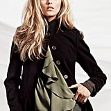 Love this military-style coat.