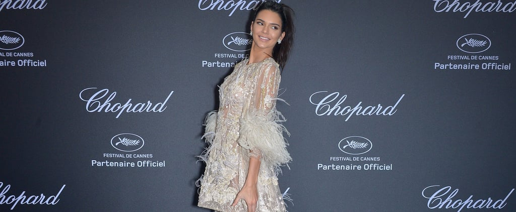 When in Cannes, Kendall Jenner's Duster Coats Can Get Fancy Too