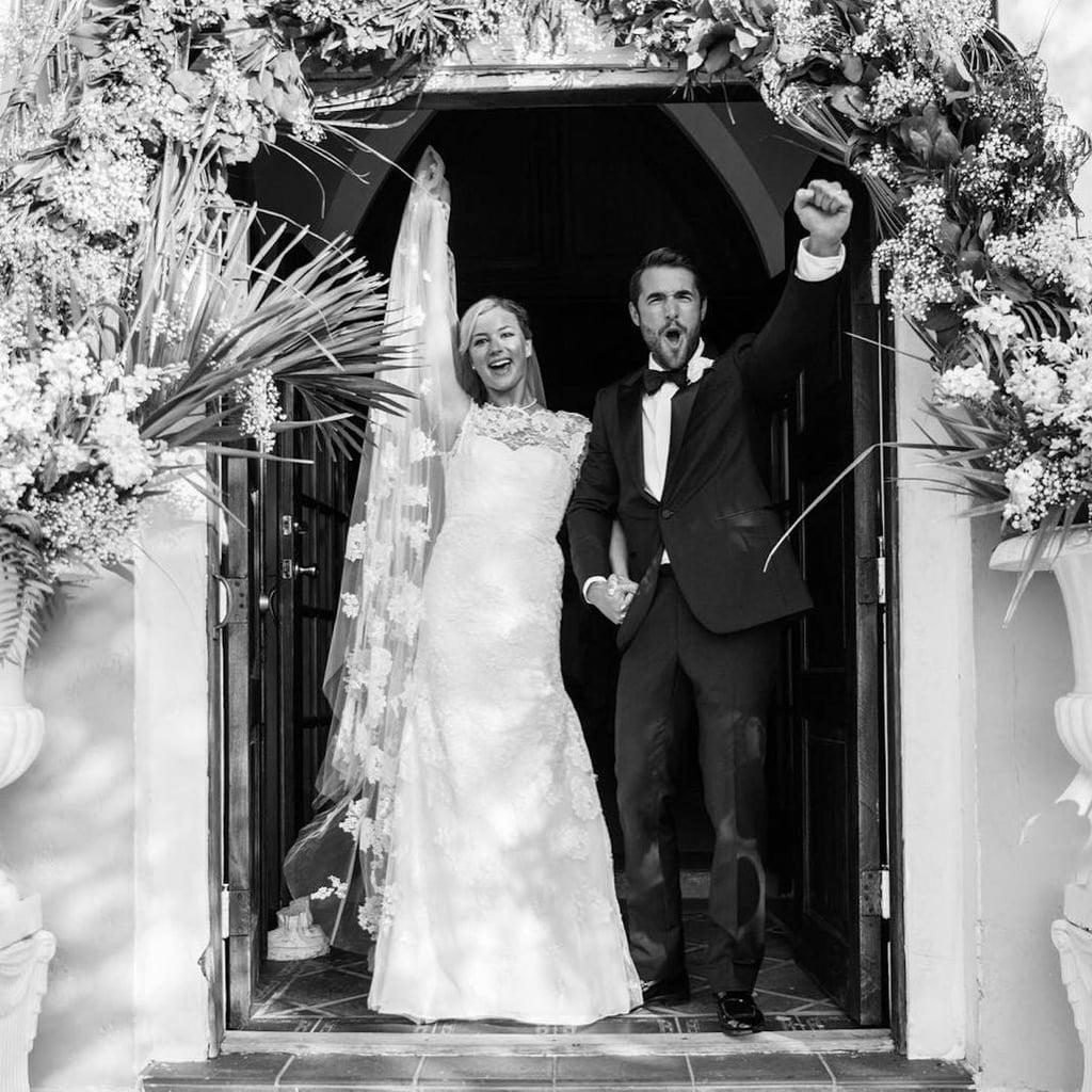 Emily VanCamp Wedding Dress 2018