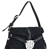 Gucci Black Beaded Handbag Mini