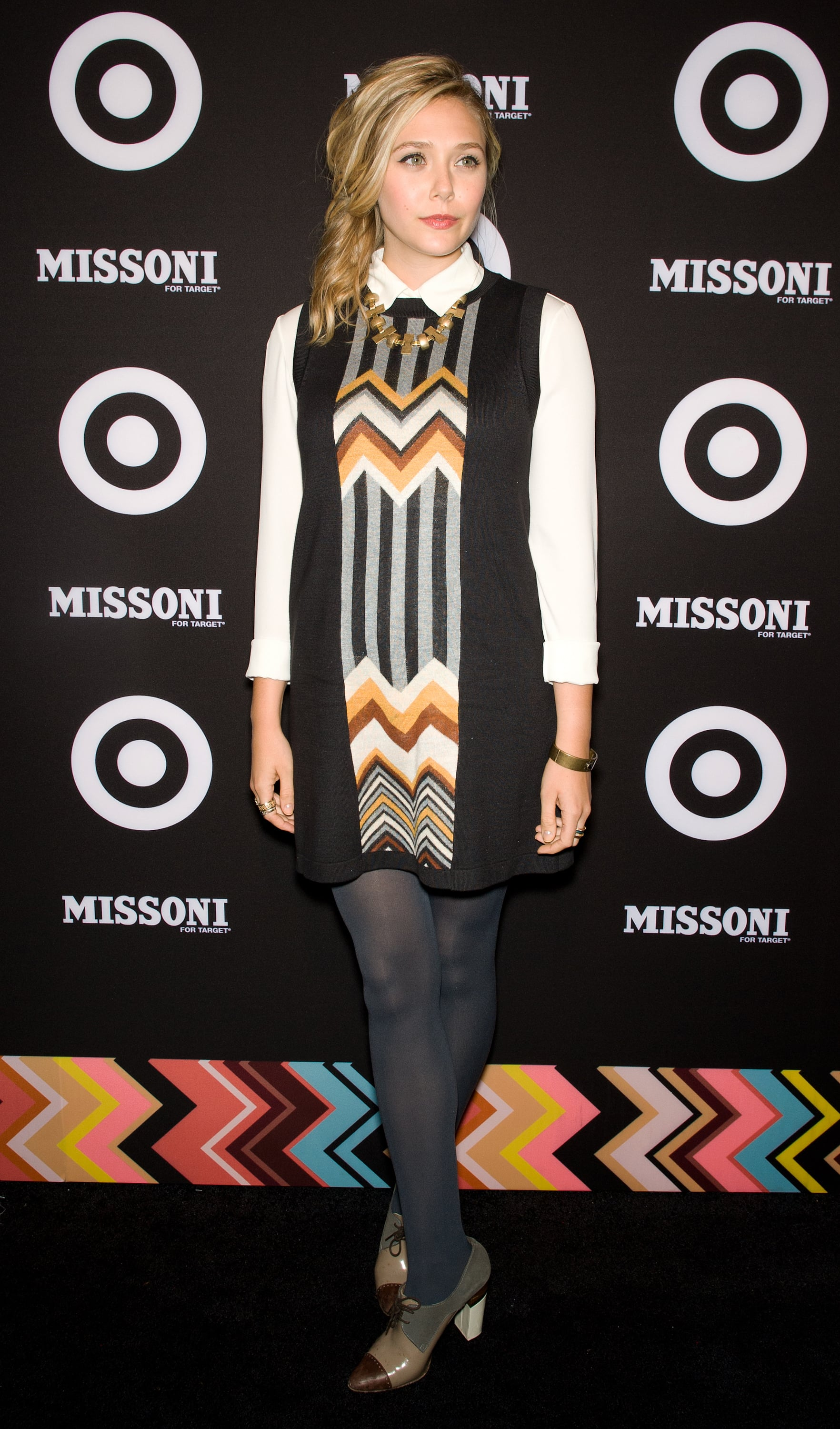 Target for missoni launch rare photo