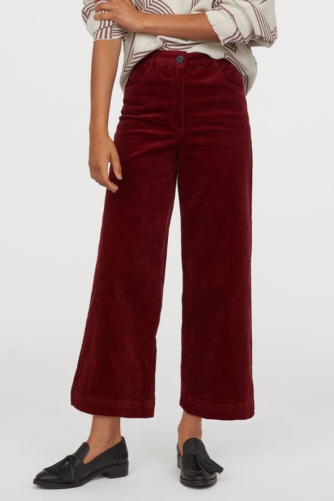 H&M Cotton Corduroy Pants