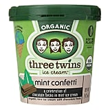 Three Twins Mint Confetti Ice Cream