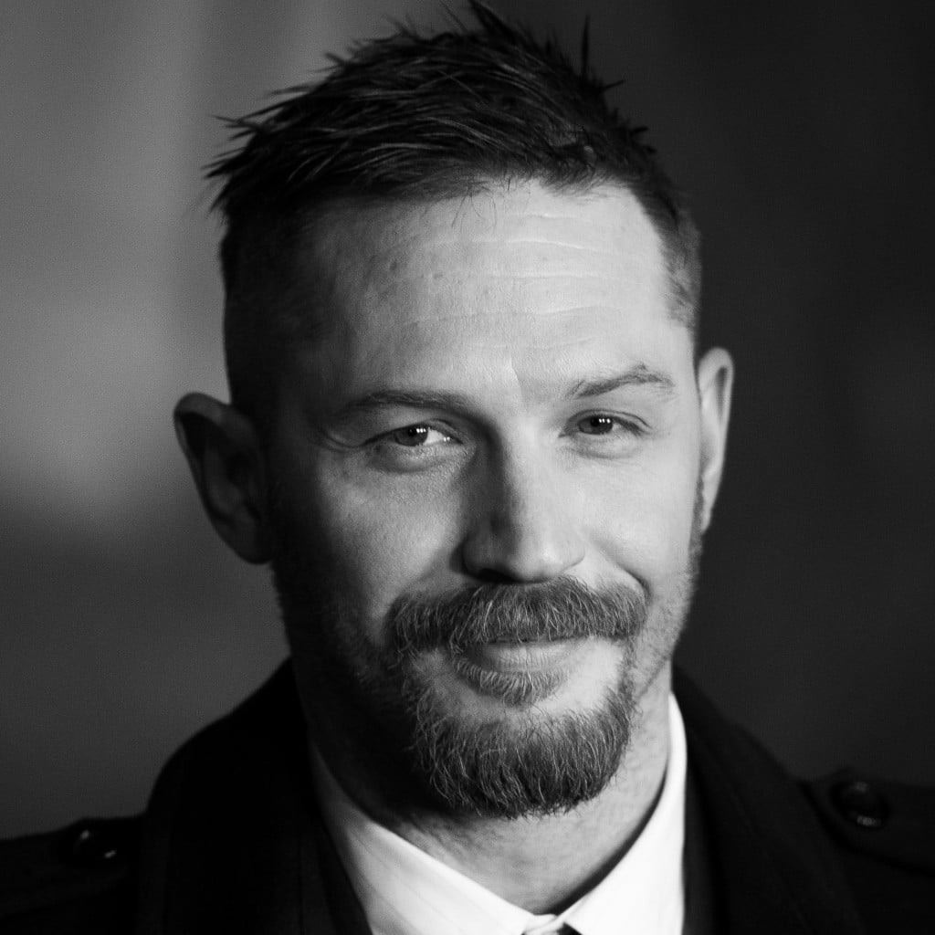 Hot black and white photos of tom hardy popsugar celebrity