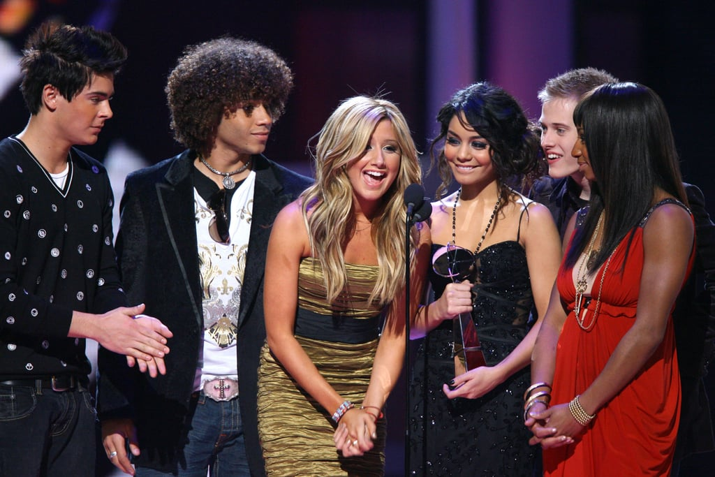 The cast of High School Musical won best soundtrack album in 2006.