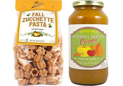 Autumnal Harvest Pasta Sauce and Zucchette Pasta