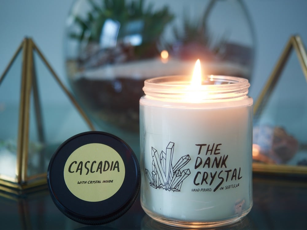 Patchouli and Bergamot Cascadia Candle ($14)