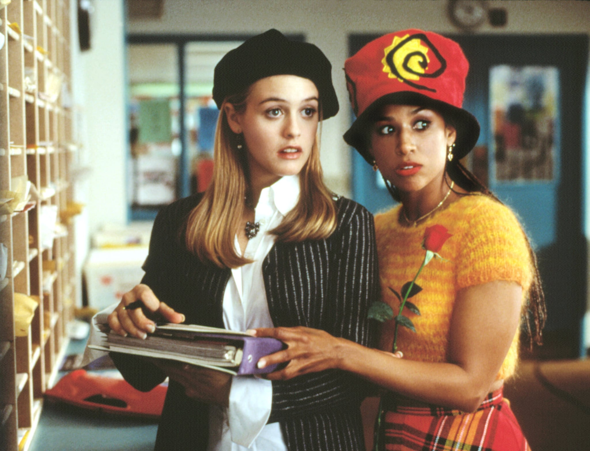 CLUELESS, Alicia Silverstone, Stacey Dash, 1995. Paramount/Courtesy Everett Collection