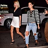 Taylor Swift With Lily Aldridge Out in NYC September 2016