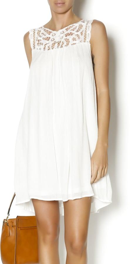 Yahada White Summer Dress