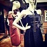 Bergdorf Goodman got the party started with cocktail-ready Lanvin dresses. Source: Instagram user bergdorfs