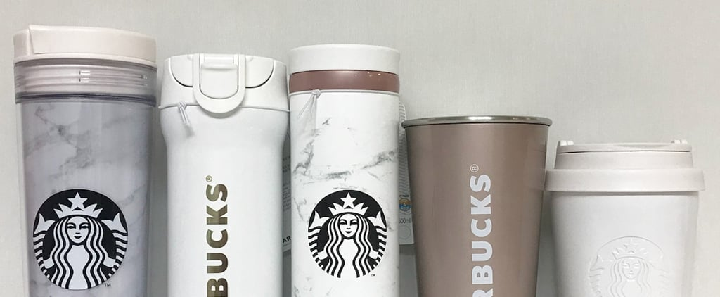Starbucks Korea Dropped the Prettiest Marble Tumblers — and You Can Score Them Online!