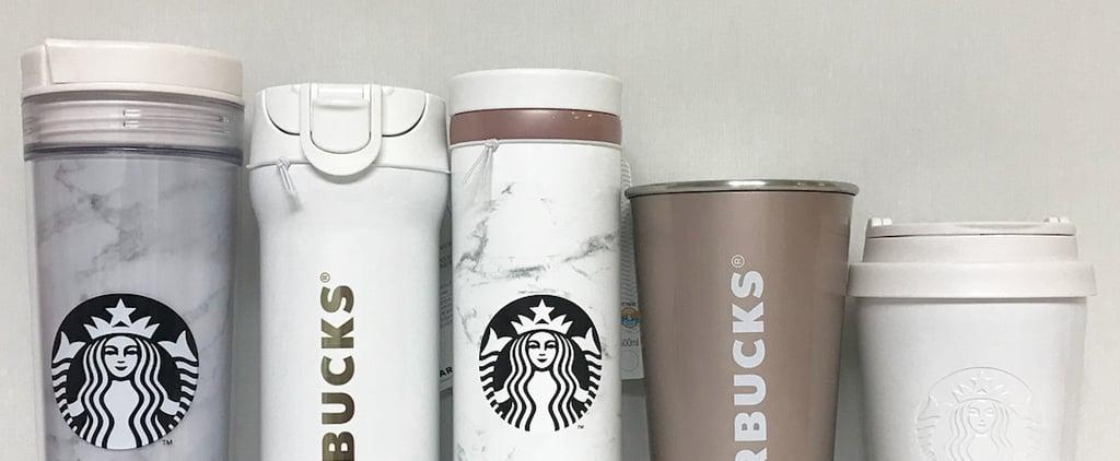 Starbucks Marble Tumblers