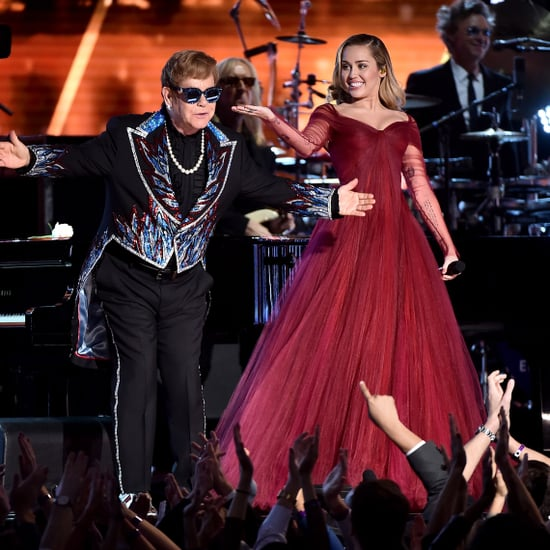 Elton John and Miley Cyrus Performance 2018 Grammys
