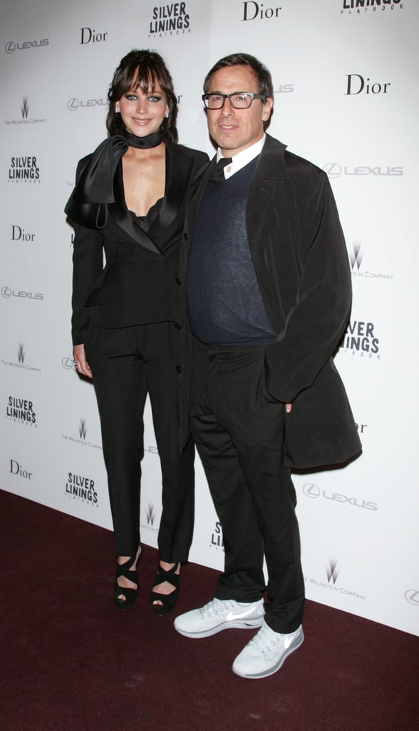 Jennifer Lawrence and director David O. Russell linked up for the NYC screening of Silver Linings Playbook.