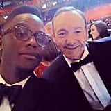 He Snapped an Oscars Selfie With Kevin Spacey