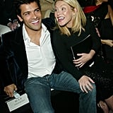 In February 2003, Kelly and Mark shared a laugh when they attended the Sean John Fall/Winter Men's Collection fashion show in NYC.