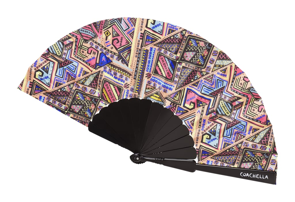H&M LOVES COACHELLA Hand Fan ($5)