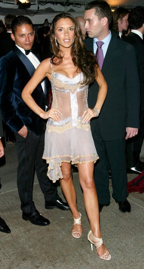 Victoria Beckham Wearing Dolce & Gabbana in 2003