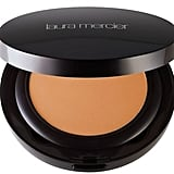This foundation lasts all day and it's easy to store for touch-ups.  Laura Mercier Smooth Finish Foundation Powder ($48)