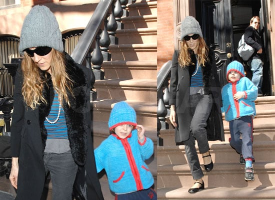 SJP Has Family Time and Talks More Sex