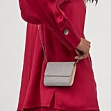 H&M Mini Bag With Rhinestones