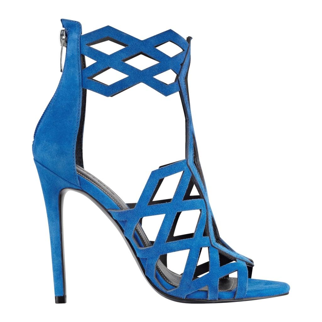 Elena Strappy Cut-Out Sandal ($160)