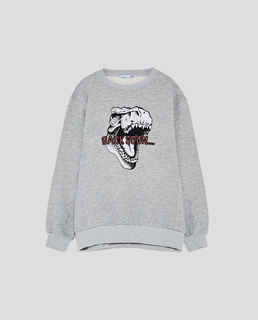 Zara Dinosaur Sweatshirt