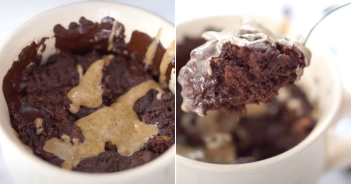 This Healthy Sweet Potato Chocolate Mug Cake Will Rock Your World