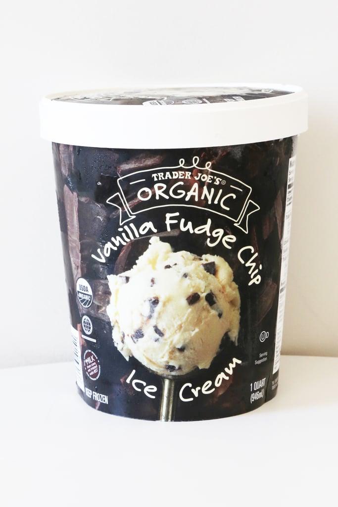 Pick Up: Organic Vanilla Fudge Chip Ice Cream ($3)