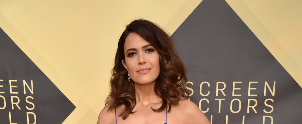 Mandy Moore Hair and Makeup SAG Awards 2018