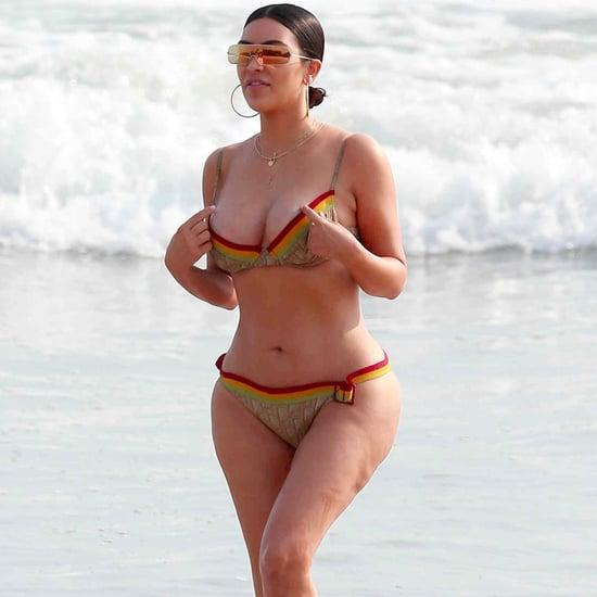 Kim Kardashian Vintage Dior Bikini