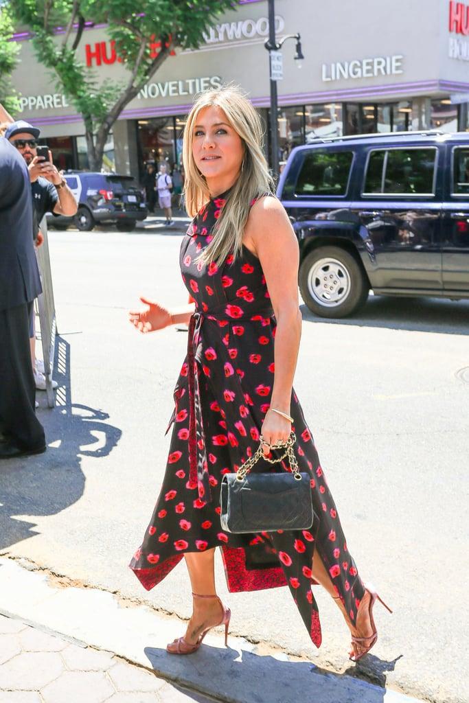 Jennifer Aniston Proenza Schouler Printed Dress