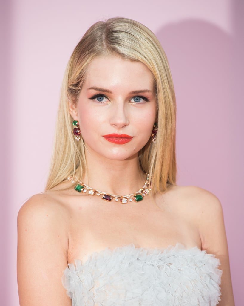 Lottie Moss's Multicolored Jewels