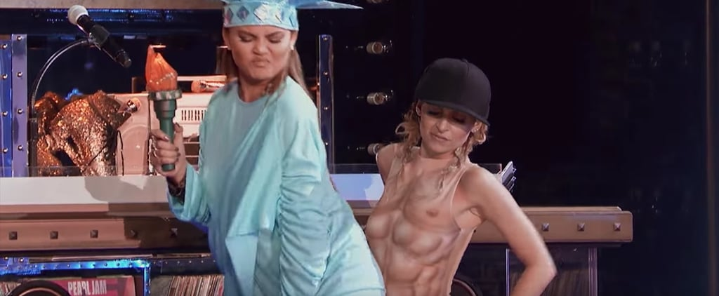 Nicole Richie's Man Chest Outfit on Lip Sync Battle Can't Be Unseen