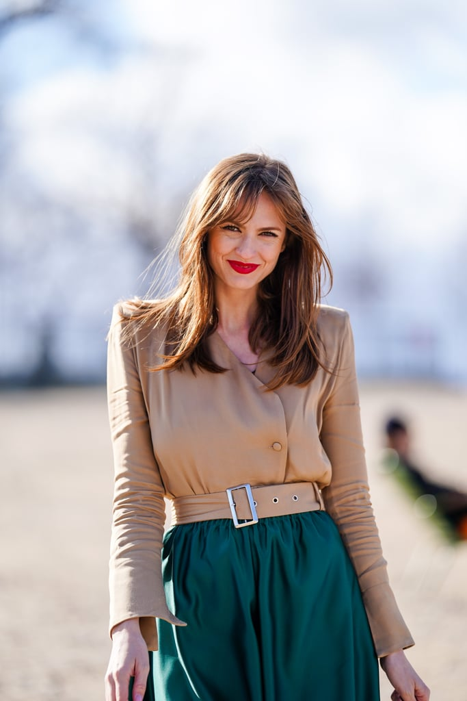 Swoop Fringe Hairstyle Trend & Inspiration