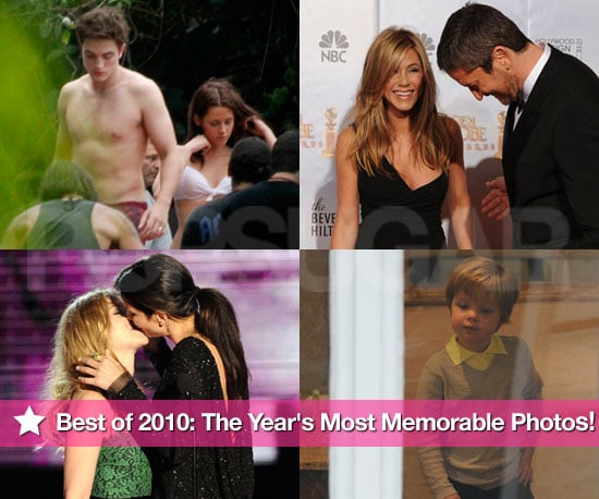 Best Celebrity Photos of 2010 Including Jennifer Aniston, Robert Pattinson, Sandra Bullock, and More