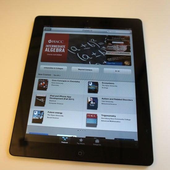 iTunes U iPad App Pictures