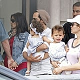 Pictures of JLO and Marc