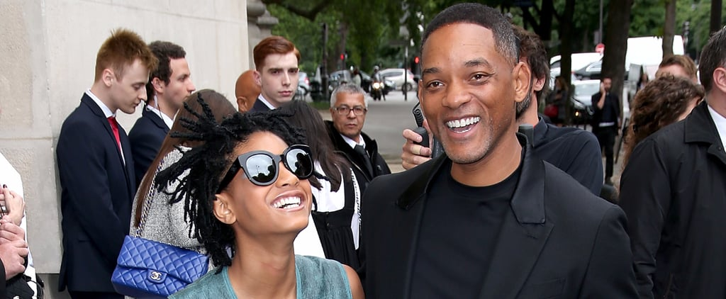 Willow Smith Steals the Spotlight From Her Famous Dad During Paris Fashion Week