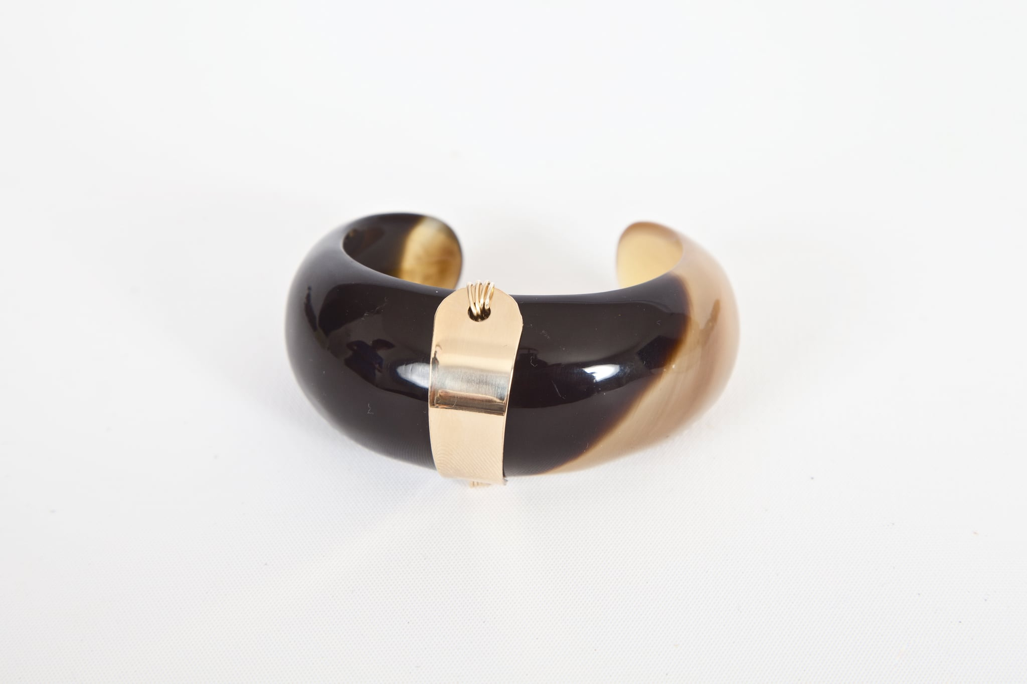 Taylor and Tessier Black Bull Cuff
