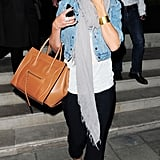 Cameron Diaz dined out in London.