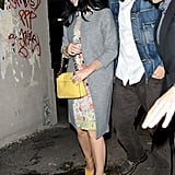 Katy Perry and John Mayer had dinner in NYC together.