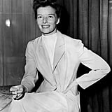 Katharine Hepburn at a London Reception in 1951