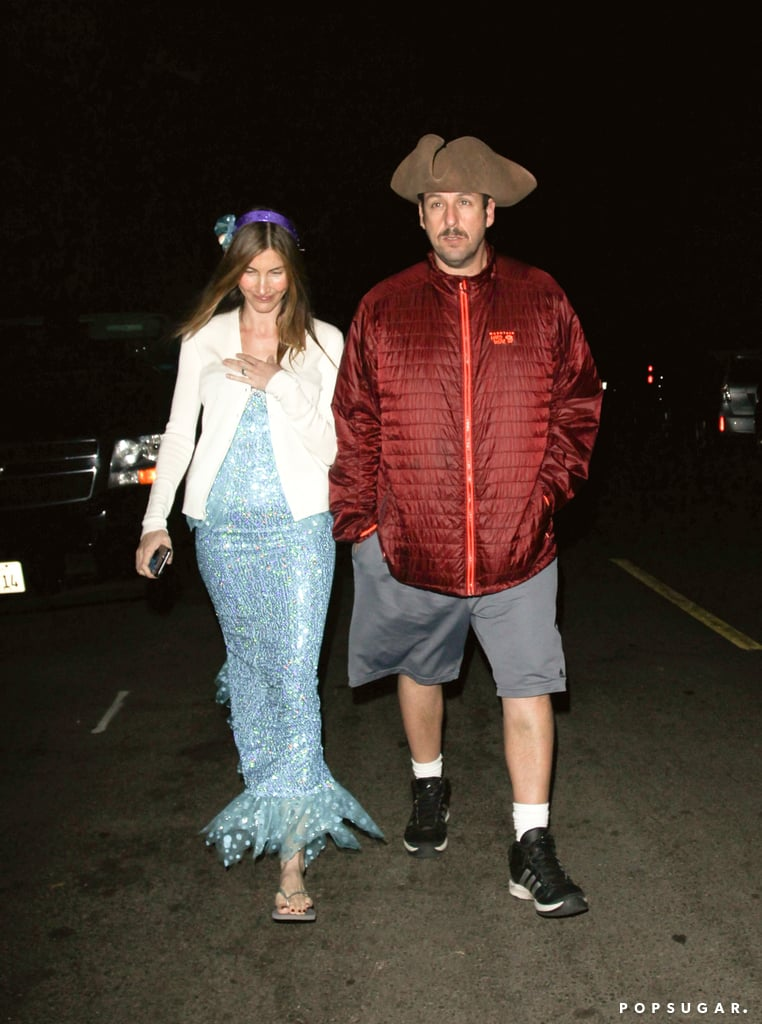 Adam Sandler as a Pirate | Celebrities at Kate Hudson\'s Halloween ...